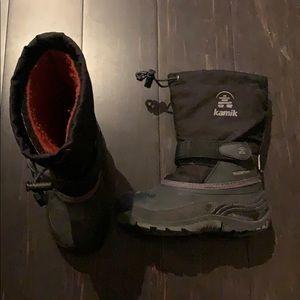 Kamik super warm, waterproof winter boots size 12